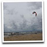 Kitesurfing - Lilaste 8.09.2012.