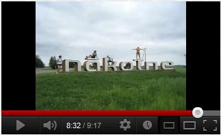 YouTube: Brīvdienu velobrauciena filmas līmēšana