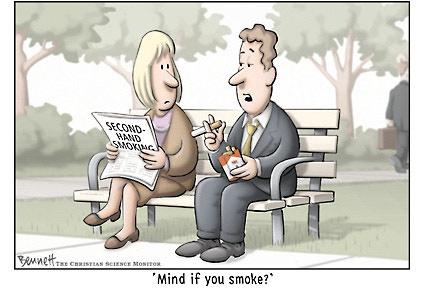 Clay Bennett: Second-Hand Smoking