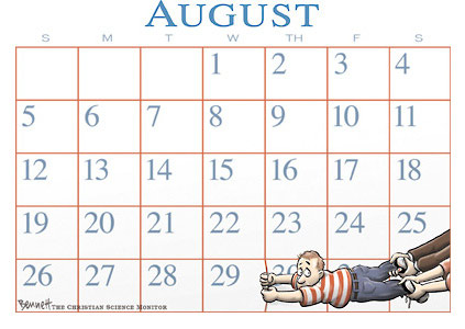 Clay Bennett – Vacation end