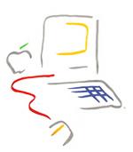 Macintosh logo – Picasso